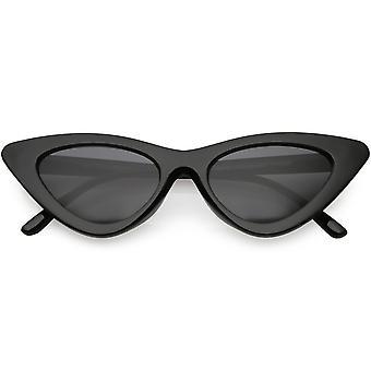 Damskie przesadzone ramki kot okulary neutralne kolorowe soczewki oka 48mm