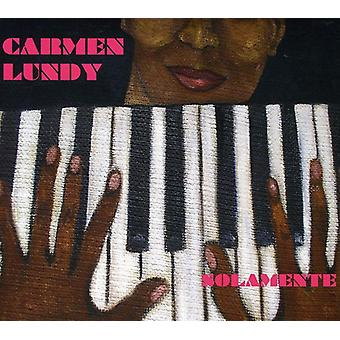 Carmen Lundy - Solamente [CD] USA import
