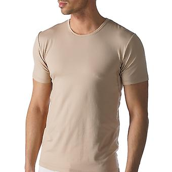 Mey 46082-111 Men's Dry Cotton Skin Solid Colour Short Sleeve Top