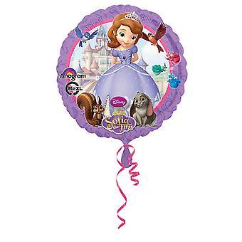 Amscan 18 Inch Disney Sofia The First Circular Foil Balloon