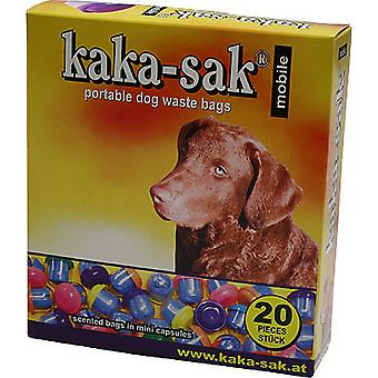 Douglas Petfood Kaka-Sak Scented Dog Poo Bag Mini Capsules (Pack Of 20)