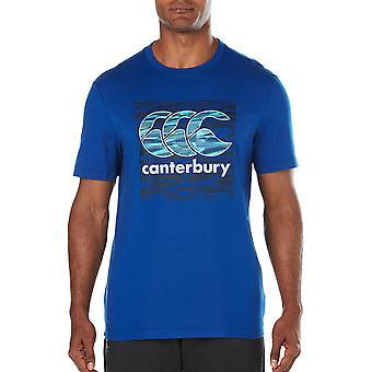 Canterbury Clothing Mens Vapodri Round Neck CCC Logoed T Shirt