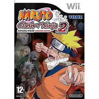 Naruto Clash of Ninja Revolution 2 (Wii)-nieuw