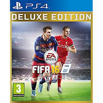 FIFA 16 Deluxe Edition (PS4) - New