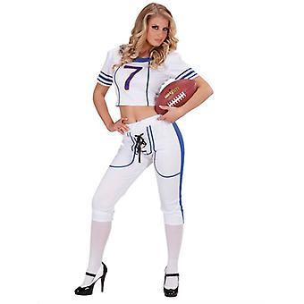US-amerikanischer American-Football-Girl