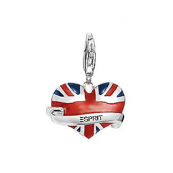 ESPRIT pendant of charms silver London heart ESCH91082A000