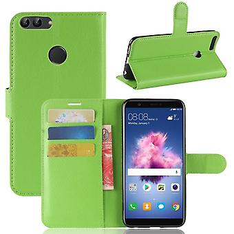 Pocket wallet premium green for Huawei enjoy 7S / P smart protection sleeve case cover pouch new