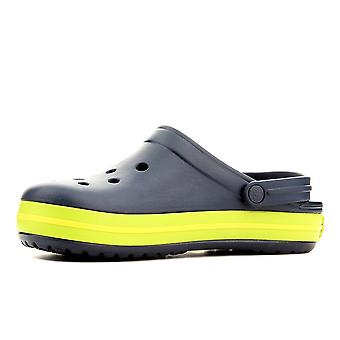Crocs Crocband Navyvolt Greenlemon 1101640I universal summer men shoes