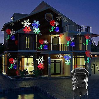 Globale Illumination 10 Muster Outdoor-LED-Projektor Licht Weihnachten Xmas Halloween-Party