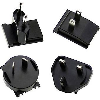 Mittlere auch AC-Stecker-MIX-Adapter Stecker kompatibel mit Mean Well