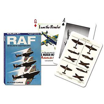 RAF Centenary joukko pelikortteja + Jokerit