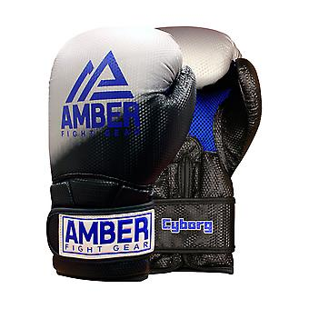 Amber Gel Boxen Training MMA Sparring Handschuhe Haken und Schleife Handschuhe Handschuhe 16oz