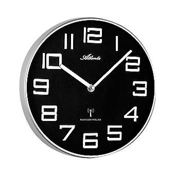 壁の時計付きラジオ アトランタ - 4386-19