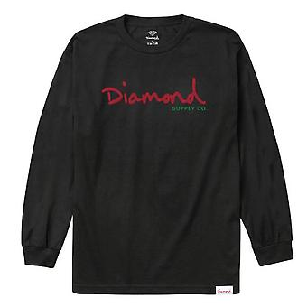 Diamond Supply Co Alligator L/S T-shirt Black