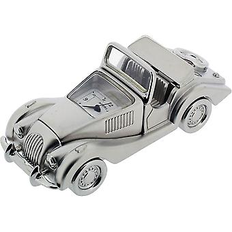 Gift Time Products Morgan Style Car Miniature Clock - Silver
