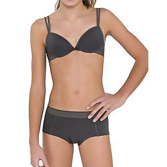 Prsia & bloomers 30.33.0042-092 Girl ' s Anny tmavo šedá bodkovaný Stručný