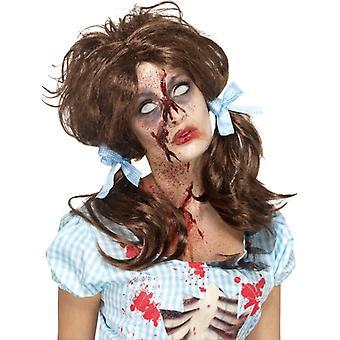 Zombie krwawe kraju dziewczyna wig