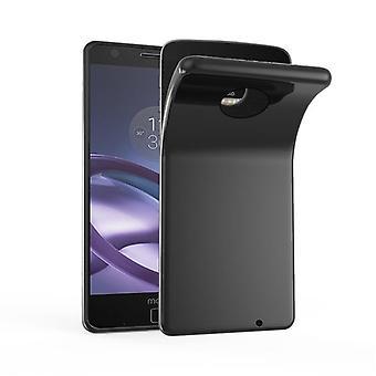 Cadorabo tapa uksessa Motorola MOTO Z pelata tapa uksessa Cover-matka Puhelin kotelo on valmistettu joustava TPU silikoni-silikoni kotelo suoja kotelo erittäin ohut pehmeä takakannen kotelo puskuri