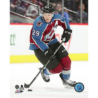 Nathan Mackinnon 2018-19 Action Photo Print
