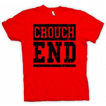 Womens T-shirt - Crouch End - Cool Funny London as worn by Simon Pegg