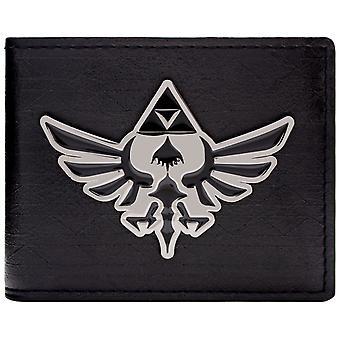 Nintendo Zelda Triforce Badge ID & Card Bi-Fold Wallet