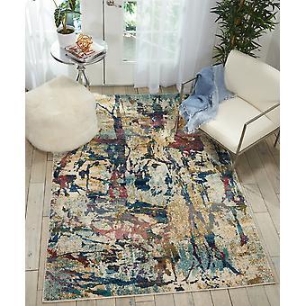 Fusión Nourison FSS10 crema Multi rectángulo alfombras alfombras tradicionales