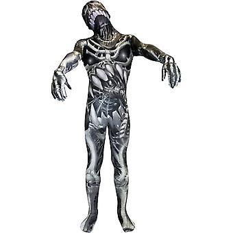 Morphsuit scheletro Costume adulto