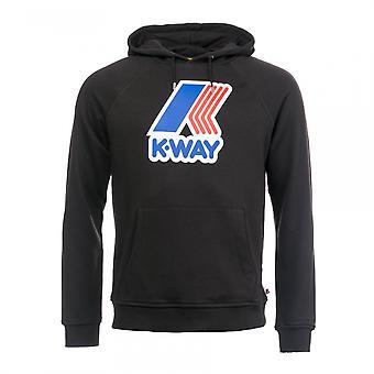 K-Way K-Way Sean FT Macro Logo Hoodie