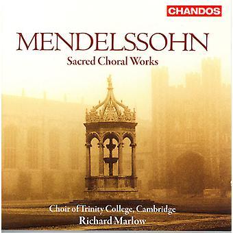 F. Mendelssohn - Mendelssohn: Heliga körverk [CD] USA import