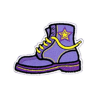 Grindstore Purple Boot Patch