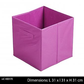 Szövet Storage Cube 31X 31 X31 cm lila