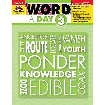 Word a Day Grade 3 by Evan-Moor Educational Publishers - 978159673409