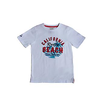 California Beach Rugby Tee-White
