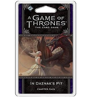 A Game of Thrones LCG In Daznak's Pit Chapter Pack Card Game