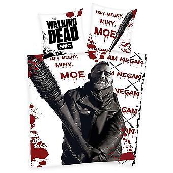 The Walking Dead Negan Single Cotton Duvet Cover Set - European Size