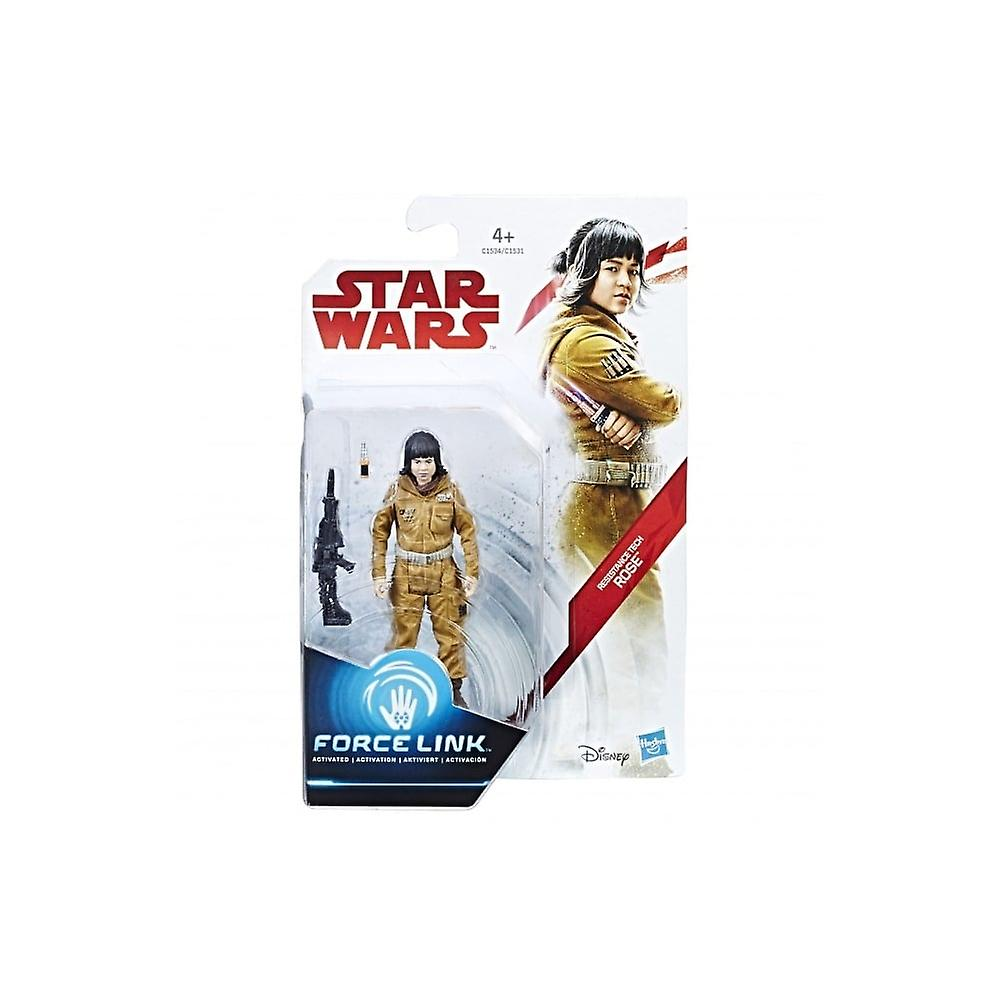 Star Wars E8 3,75 inch Force länk siffra (Resistance Tech Rose)