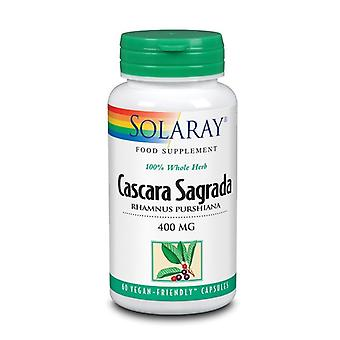 Solaray Cascara Sagrada 400mg Cápsulas 60 (1058)