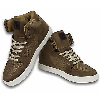 Shoes - Sneaker High - Riff Taupe