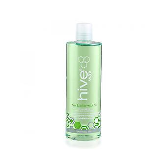 Hive Of Beauty Pre and After Wax Treatment Coconut And Lime Soothing Oil - 400ml