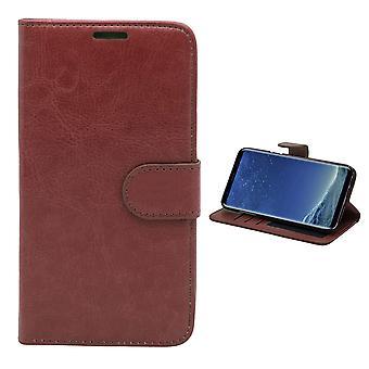 Leder Case/Wallet-Samsung Galaxy S8