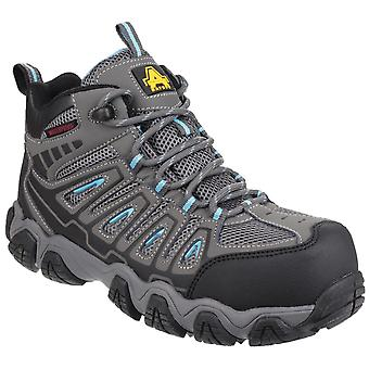Amblers Safety Womens AS802 Waterproof Non-Metal Ladies Safety Hiker