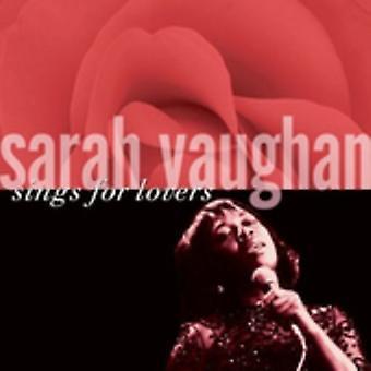 Sarah Vaughan - Sings for Lovers [CD] USA import