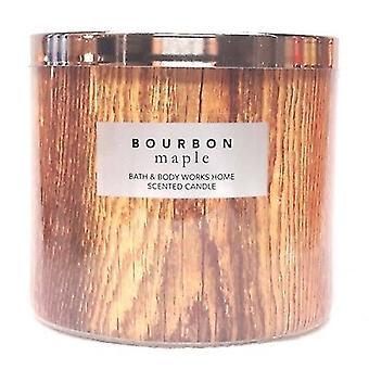 Bad & Körper Arbeiten Bourbon Home Maple duftende Kerze 14,5 Unzen / 411 g (Packung mit 2)