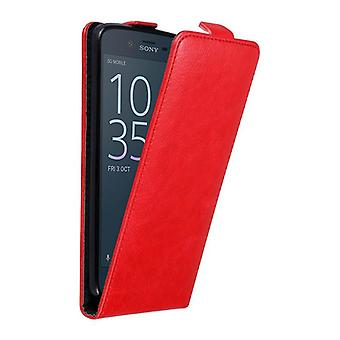 Cadorabo Case for Sony Xperia XZ / XZS Case Cover - Phone Case in Flip Design with Magnetic Closure - Case Cover Case Case Case Case Book Folding Style