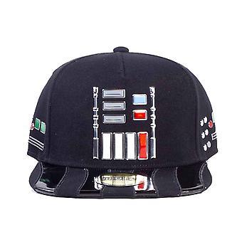 Star Wars Baseball Baseball Cap Darth Vader Pulsanti nuovo ufficiale nero Snapback