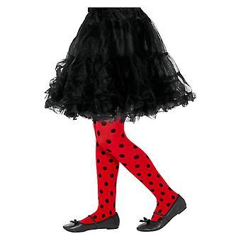 Coccinella Spot collant, Childs, rosso & nero costume accessorio