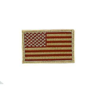 Patch Ecusson Brode Thermocollant vlag USA Usain Camo Airsoft