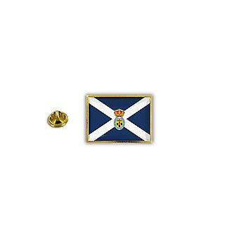 Pine PineS PIN badge PIN-apos; s metal broche Papillon flag Tenerife