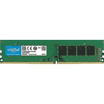حاسمة 4GB (1x4gb) Ddr4 2400mhz Udimm Cl17