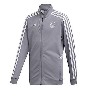 2019-2020 Ajax Adidas koulutus takki (harmaa)